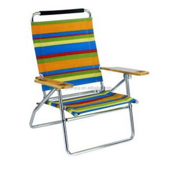 Rainbow Color Wedding Folding Rocking Beach Chair