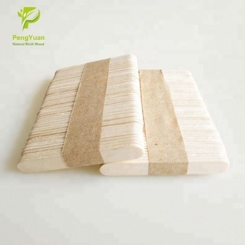 Factory Prices Birch Wood Printed Popsicle Sticks