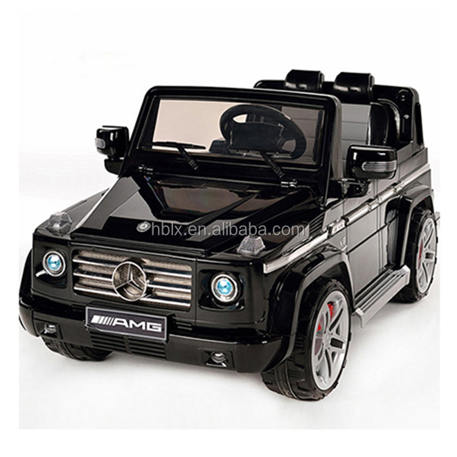 Parent rc Mercedes G55 Amg 12v kids ride on for toddlers