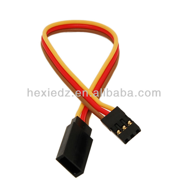 22awg or 26awg JR Servo Extension Wire Male to Female