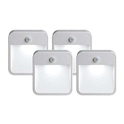 eufy Lumi Night Light, Warm White LED Nightlight Bedroom Bathroom Kitchen Hallway Stairs Energy Efficient Compact