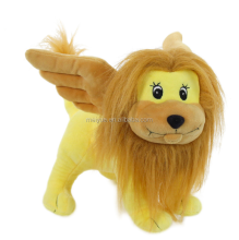 Promotional Lovely Super Soft Velboa Polyester Peluche Flying Wings Lion