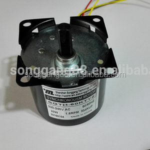 14W 240V Dia 60mm Low rpm Micro AC Gear Motor Reversible Synchronous Electric Motors 60TYD/SGTH-60 For Peristaltic Pumps