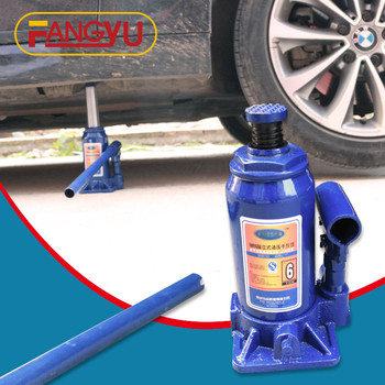 Hydraulic bottle jacks 5ton for lifting trucks and cars , vertical type car jack