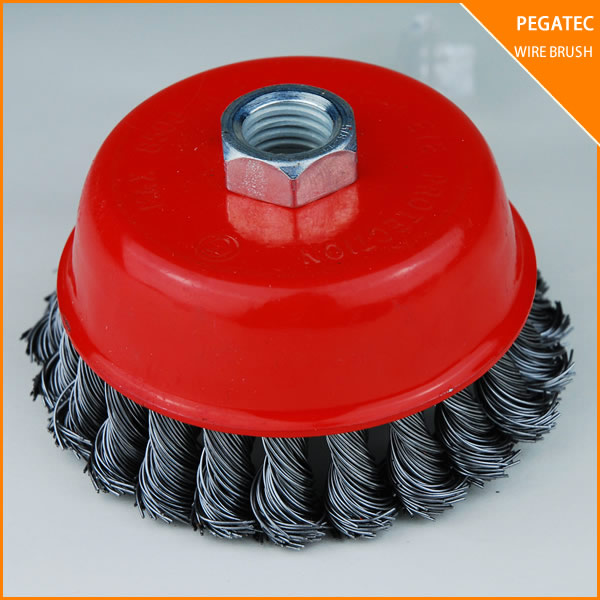 wheel polishing steel wire cup brush stainless steel wire mesh