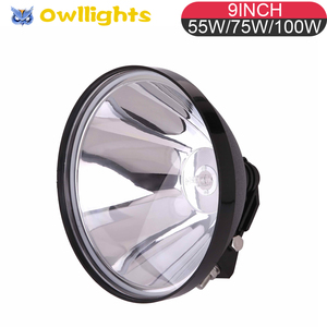 300mm Super Bright HID Projector Light Xenon 100W HID Driving Light For Car,SUV,Tractor, Agricultural HID Automotive Lighting