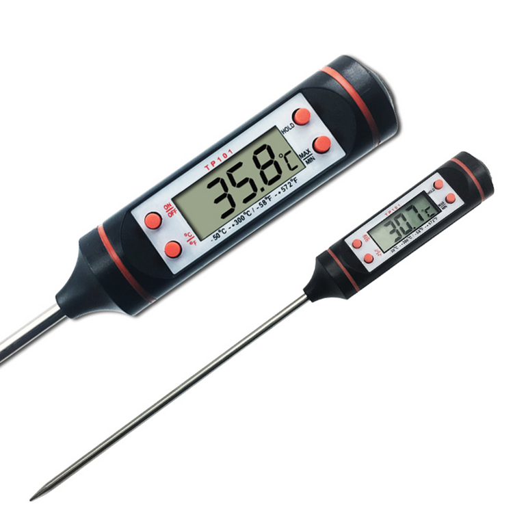 Instant lees digitale pen type magnetron vlees thermometer