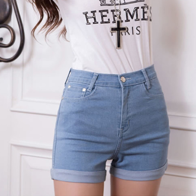 709334403ab 웃 유Women Sexy Ripped Denim Shorts ≧ Ladies'Casual Ladies ...