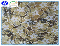 High quality polyester and cotton burnt-out lace ,lace fabric in rolls for weeding dress