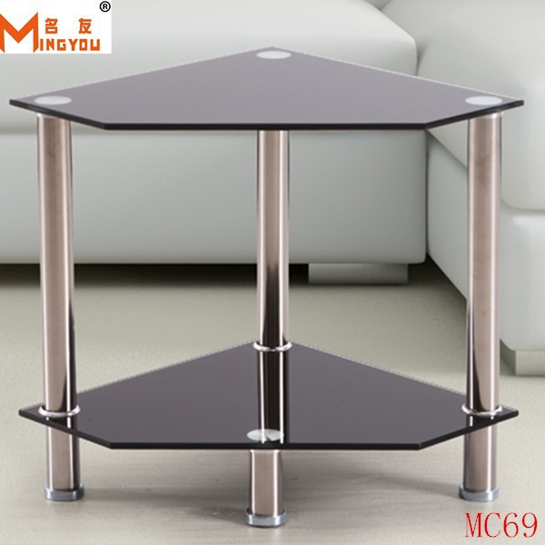 Meubles de salon pivotant table en verre tremp table - Table salon verre trempe ...