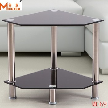 Living room furniture swivel tempered glass table buy for Glass living room furniture