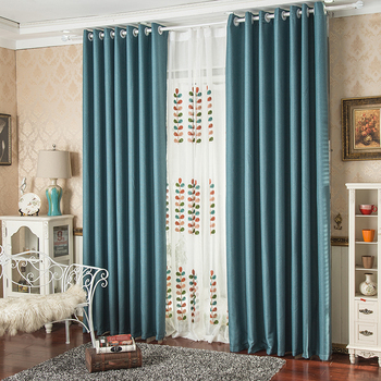 Good Quality Luxury Vertical Blind Curtains And Drapes European