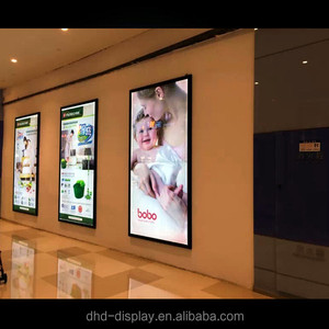 backlit sign boards led board for light box advertising poster display with magnetic frames