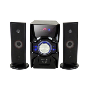 Classic Hifi 6.5 Inch Karaoke Player Round Luxury Home Speaker Theater Subwoofer Portable 2.1