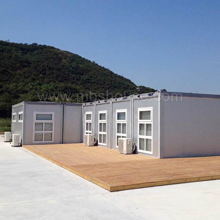 Glass wood fireproof sandwich panel storage container for Prefabricated underground homes
