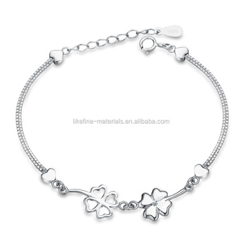 Best Gifts Simple Beautiful Design Teen Girl Silver Bracelets Buy