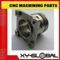 High quality heat treated mild steel and iron CNC machined precise valve and body Guangdong factory