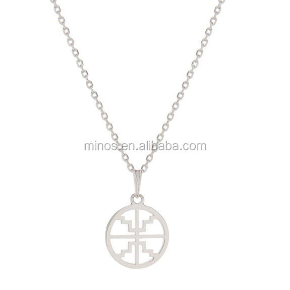 Full Neck Covering Necklace Design, The Baby Disc Necklace
