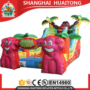 China Inflatable dry indoor slide