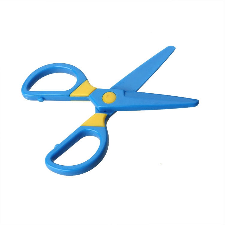 wholesale S1016 V-HONG High quality Plastic Office Safety scissors for kids
