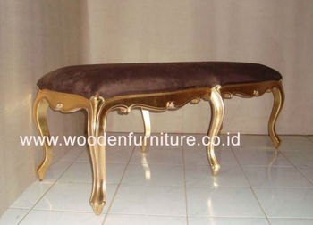 Outstanding Long Stool Golden Ottoman Wooden Bench French Style Chair European Style Vintage Home Furniture Buy Antique Stool French Style Ottoman Antique Ncnpc Chair Design For Home Ncnpcorg