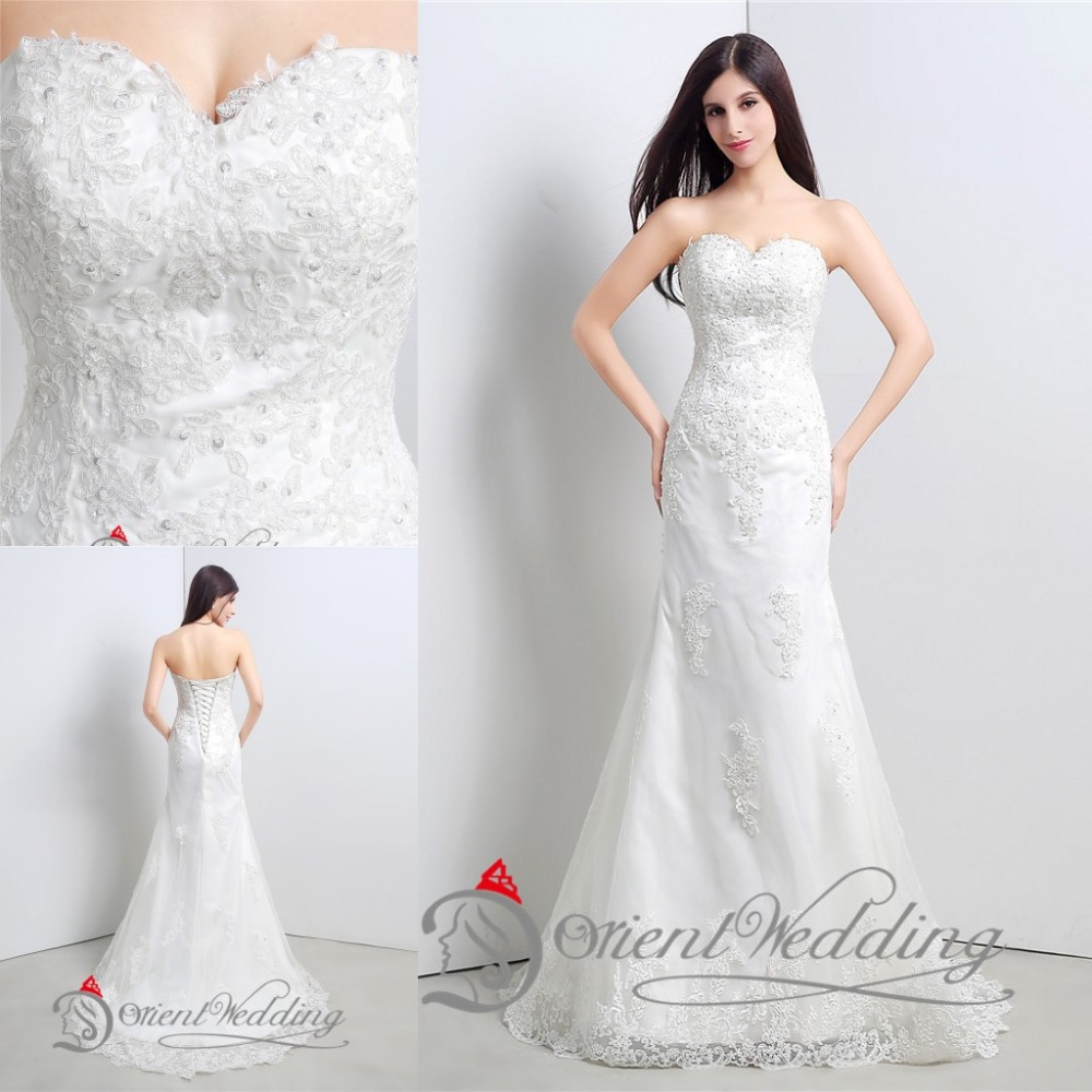 Simple Elegant Country Style Wedding Dresses With Lace: Elegant Vintage Sexy Lace Country Western Style China