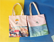 New Cheap Love Organic Cotton Tote Bag In Shopping Children Shoes Bag