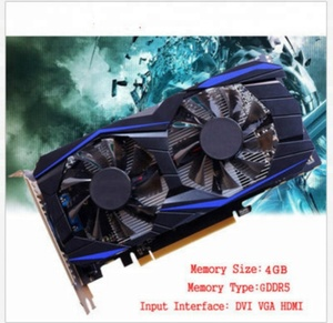 Factory cost GTX960 4G DDR5 PCI-E 128Bit gaming video graphics card with double cooling fan OEM