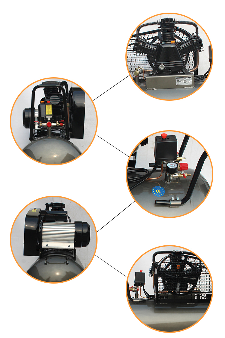 500l 20hp 15kw air compressor on sale