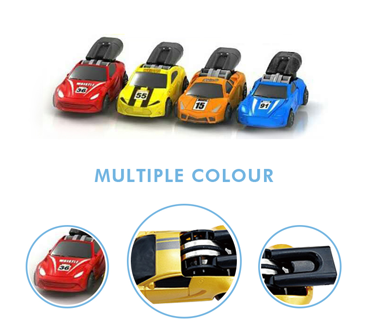 Promotional cheap kids mini colorful fast racing plastic car small whistle toy