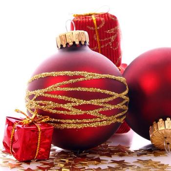 Custom Hand Painted Glass Christmas Ornaments Ball For Christmas