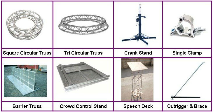 RK Stage Aluminum Truss lifting tower for hot sales K