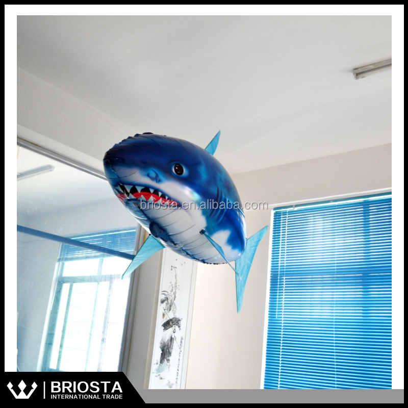 Wholesale Remote Control Flying Shark Inflatable Helium Toy