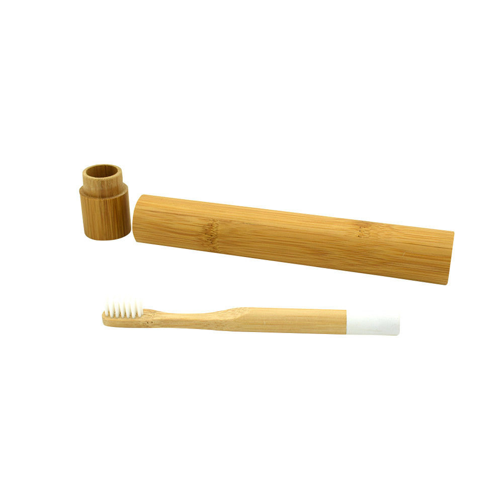 2019 Eco friendly  OEM 4 pack organic charcoal bamboo toothbrush
