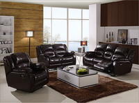 best selling comfortable top grain leather recliner sofa