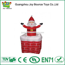 high quality air-blown inflatable santa claus,inflatable christmas guangzhou
