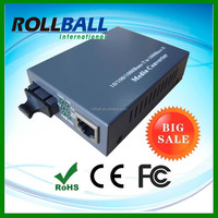 supplying Excellent performance 10/100/1000M 20km ethernet to fiber converters