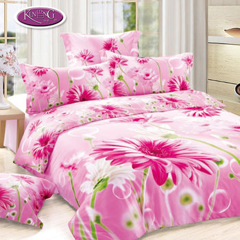 Factory Direct Price Flower Printing 100% Cotton Bed Sheets Dubai 3d Bed  Cover Set