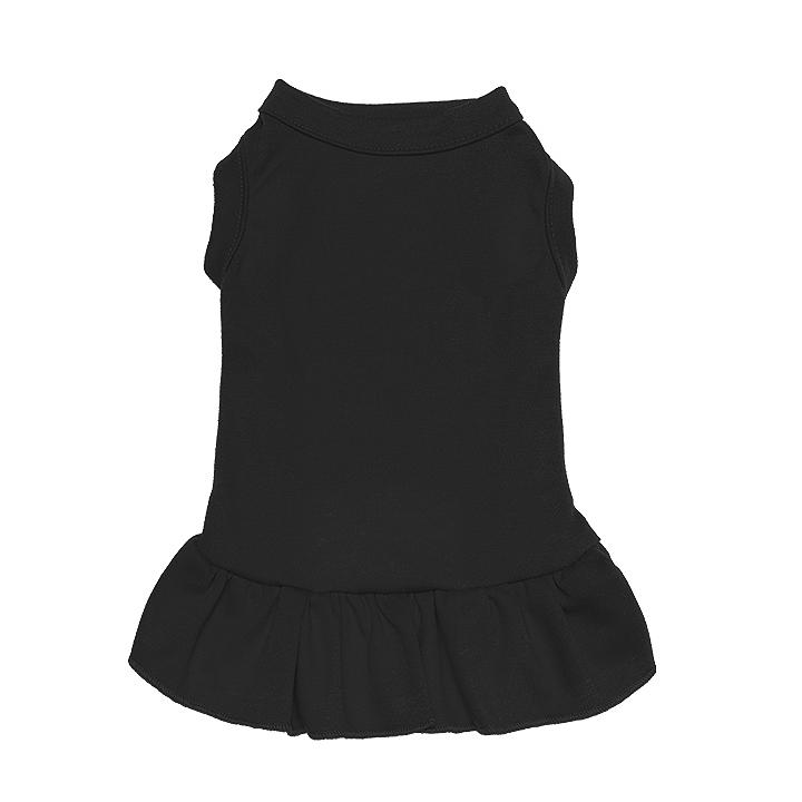 En gros Imprimé Blanc Chien Vêtements Coton Personnalisé Vêtements Pour Animaux De Compagnie Chat Chien Robe