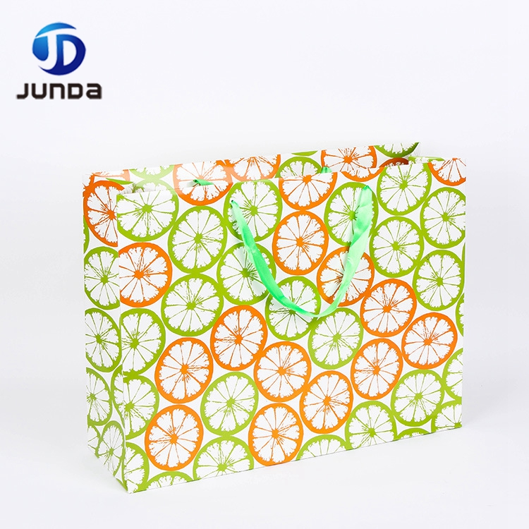 Fashion Style Environmental Custom Cheap Luxe paper bag