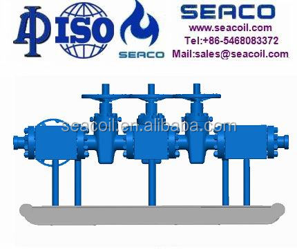 Carmeron Shaffer Wellhead Plug Valve and Manifold Spool system
