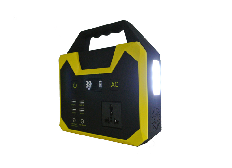 110v 220v 100w/300w/500w camping emergency home portable solar power station ,  200W portable power supply