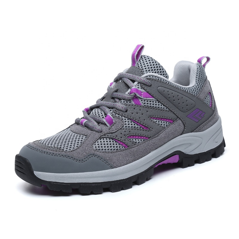 Durable Breathable Hiking Outdoor Women Sports Shoes, 3 colors in stock