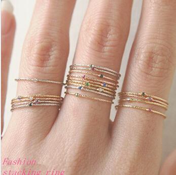 tynde enkle ringe