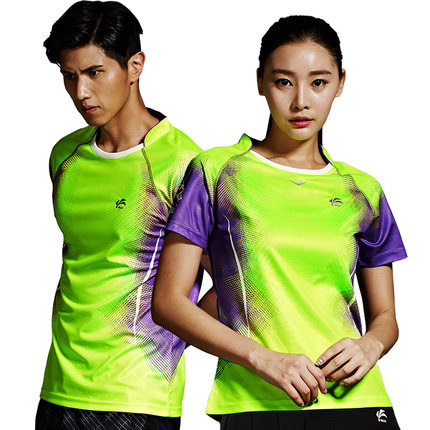 Custom good quality badminton sports jersey new design badminton shirts