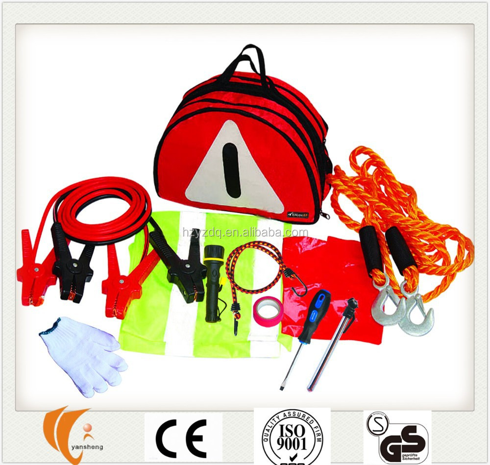 Auto Road Emergency Safety Tools Kit