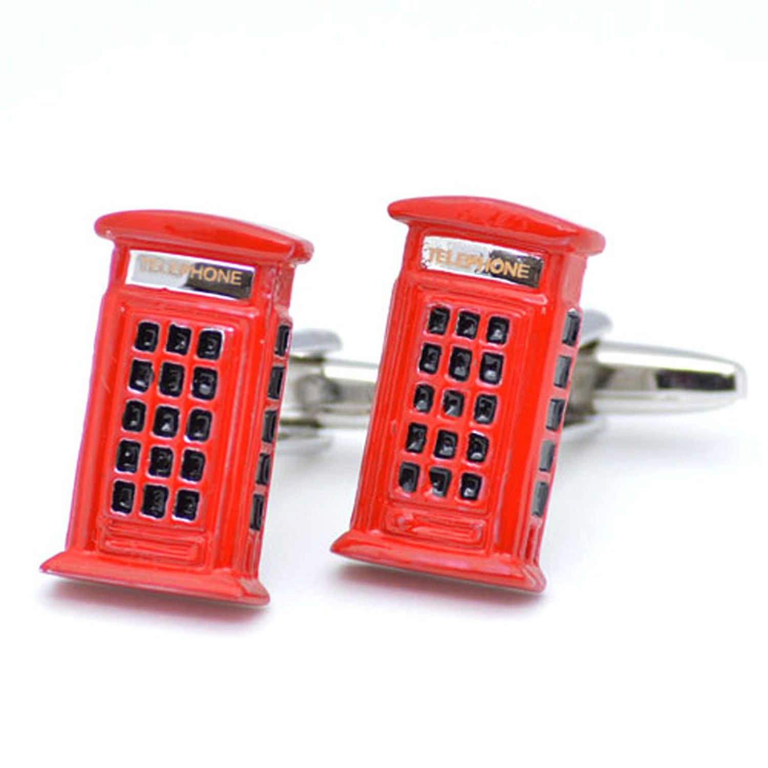 Get Quotations Cuffsmart Red Phone Booth Cufflinks