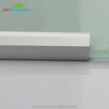 U Kanaal Led Profiel Aluminium Voor 8mm Glas Led Voor Glasplaat ...