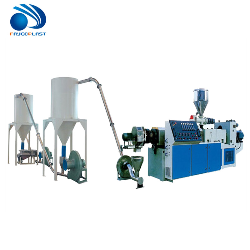 PP PE PET plastic pelletiseermachine
