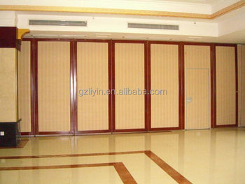 Soundproof Material Sliding Wood Room Dividers